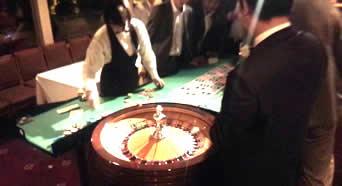 船上カジノパーティ