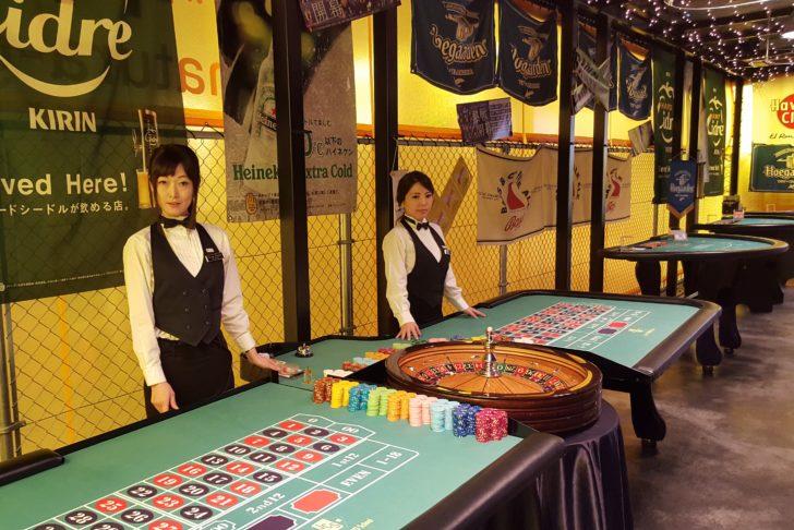 カジノ機材&カジノディーラー
