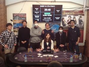 ポーカーグランプリDAY1[カジノクエスト]